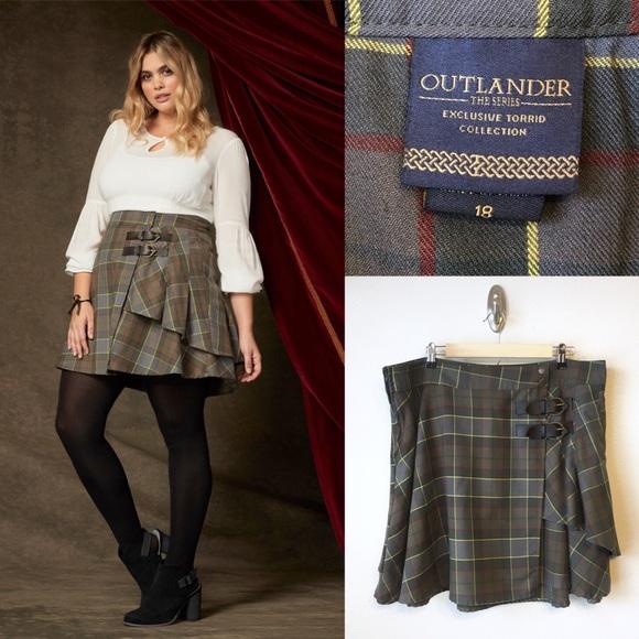 ee1797c7a torrid Skirts   Outlander Fraser Plaid Skirt Kilt 18 1x   Poshmark